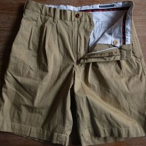 POLO RALPH LAUREN FAIRWAY FIT PLEATED FRONT SHORTS
